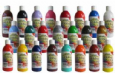 Acrylic Paint Range 250ml Bottles